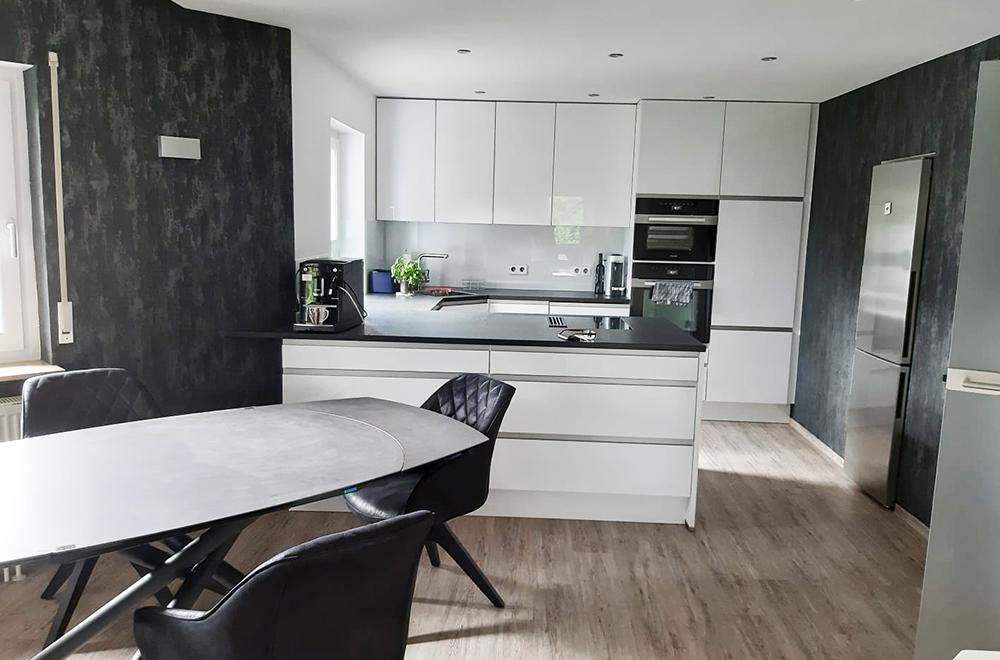 Komplett Umbau Küche offen