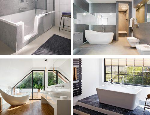Die Badewanne bei der Bad-Renovierung